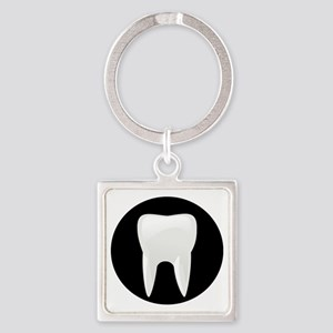 Tooth Square Keychain